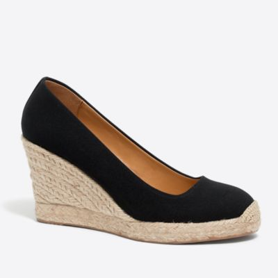 Canvas espadrille wedges   search