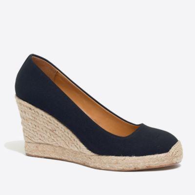 Canvas espadrille wedges factorywomen shoes c